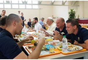 Pope Francis canteen