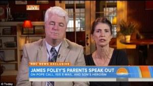 Orang tua dari James Foley
