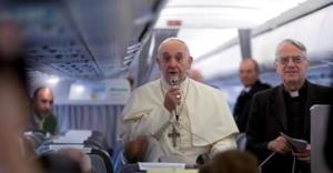 Pope plane Albania