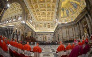Paus Vesper Basilika St Paulus Luar Tembok