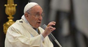 Pope Lenten 2015