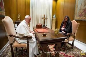 Paus dan Iran tentang perempuan5