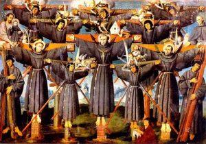 St Paulus Miki dkk diambil dari catholic Fire