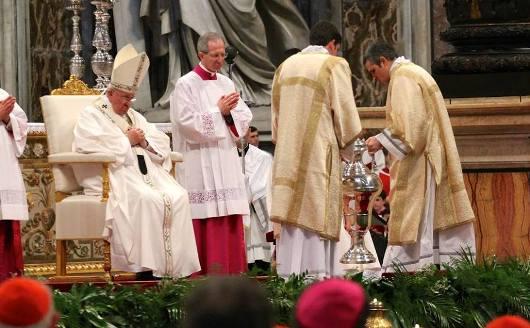 Misa Krisma Paus 1