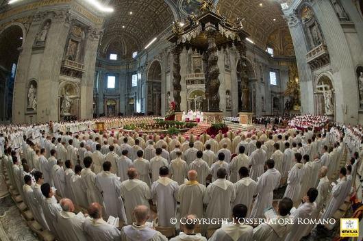 Misa Krisma Paus 2