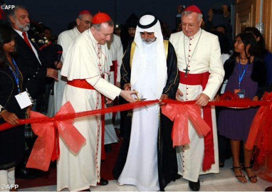 Kardinal Pietro Parolin resmikan Gereja Katolik di Abu Dhabi