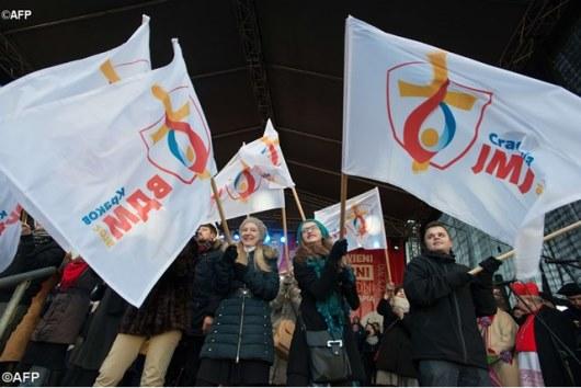 Bendera WYD 2016 di Polandia