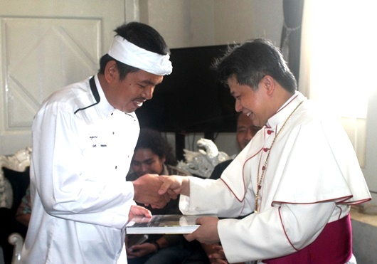 Bupati dan Uskup