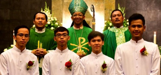 Penerimaan Jubah Seeminari St Petrus Paulus Bandung Diosesan Bogor