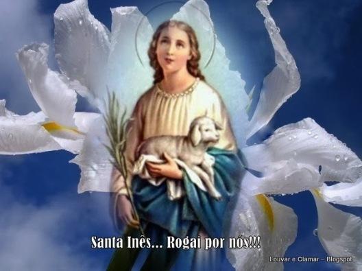 Santa Agnes atau Santa Ines