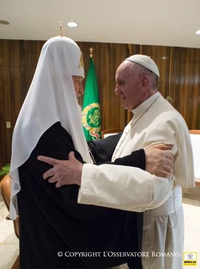 Pertemuan Paus dan Patriark Ortodoks Rusia