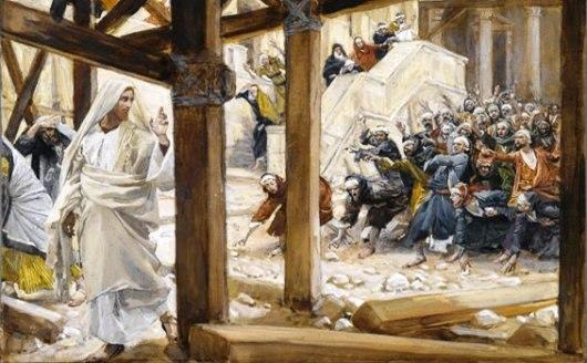 Yesus-akan-dilempari-batu