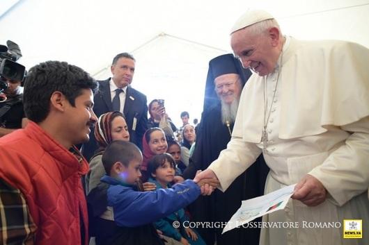 Paus dan Pengungsi Lesbos (3)
