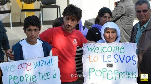 Paus dan Pengungsi Lesbos