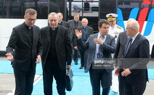 KTT kemanusiaan2 Kardinal Petro Parolin tiba di Istanbul