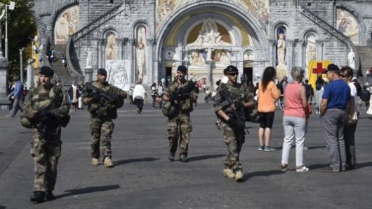 Keamanan di Lourdes