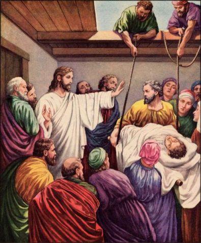 Yesus menyebuhkan