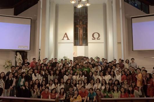 Foto dari Facebook Komisi Kepemudaan Bandung