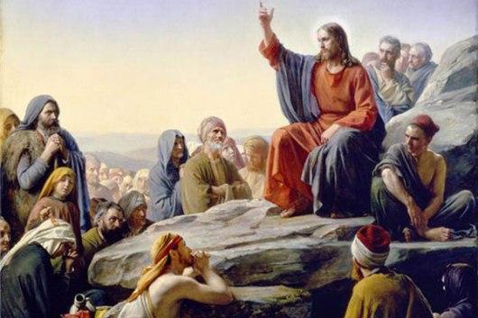 Christ teaching [Large]