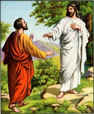 Peter's Confession of Jesus Matthew 16:15-16