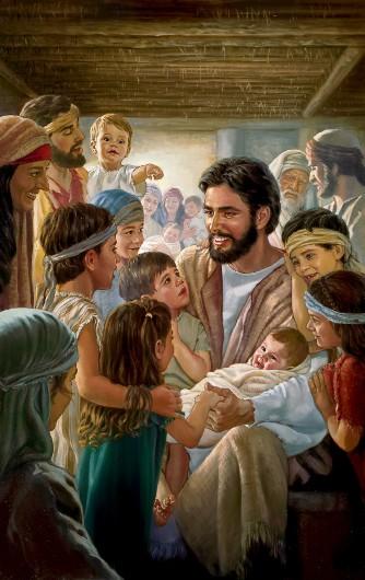 Yesus dan anak-anak