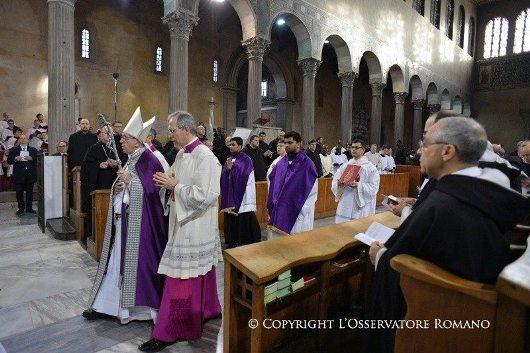 Rabu Abu di Santa Sabina.1jpg