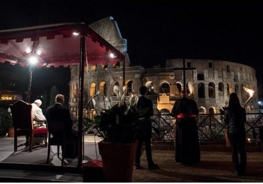 Paus dalam Via crucis