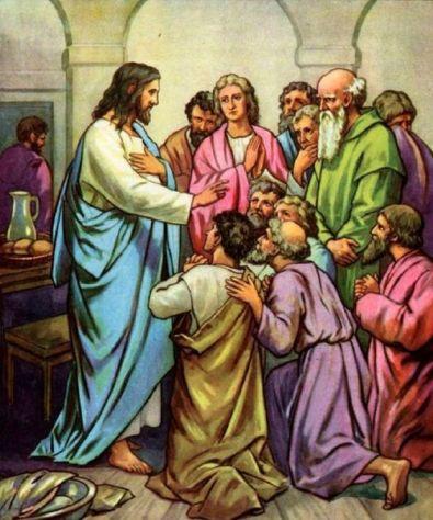 Penampakan kepada para murid