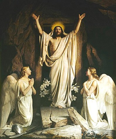 The Resurrection, by Carl Heinrich Bloch (1834-1890)