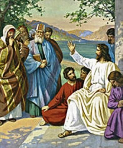 Yesus mengajar di Yerusalem