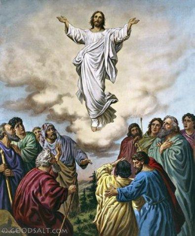Yesus terangka ke surga