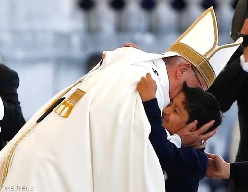 Yang sembuh atas perantaraan St Fransico dan St Yacinta