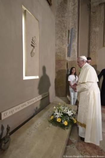 Pope Francis in Bozzolo, Don Mazzolari