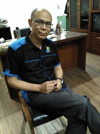 Romo Albertus Herwanta, O.Carm selaku Rektor Universitas Katolik Widya Karya Malang (1)