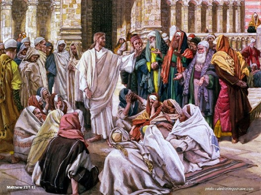 Matthew 23 1-12