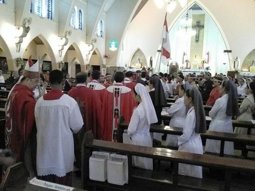 Misa HUT RI ke- 72 di Gereja Katedral Santa Perawan Maria Dari Gunung Karmel, Malang. Kamis (17- 8- 2017) (13)