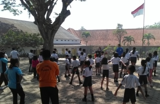 Murid-murid SDK Santo Fransiskus Lawang, sedang latihan THS-THM (3)