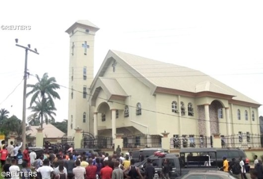 Gereja Katolik Santo Filipus di Ozubulu