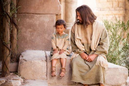 Yesus mengajarkan kita menjadi anak kecil