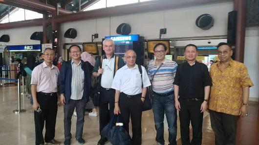 Di Airport Jakarta bersama Dominikan Awam Jakarta