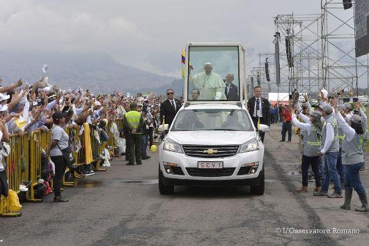 Paus Kolombia6