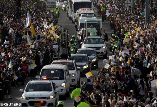 Paus di Kolumbia