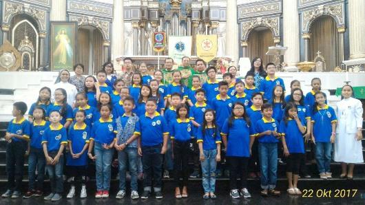 Pelantikan SEKAMI 2017 Paroki KatedralJPG