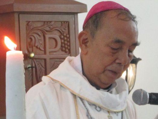 Uskup Emeritus Pontianak Mgr Hieronymus Herculanus Bumbun OFMCap