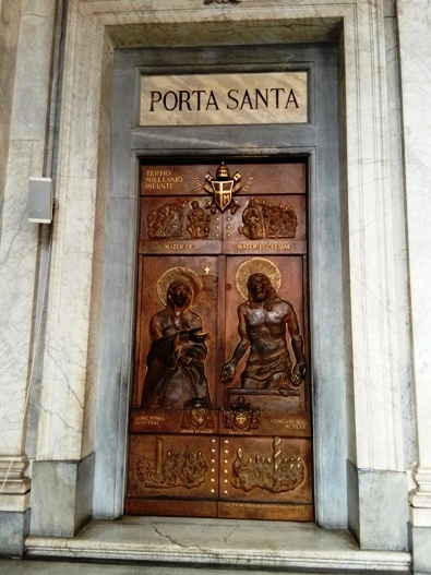 Porta Santa Basilika Santa Maria Maggiore