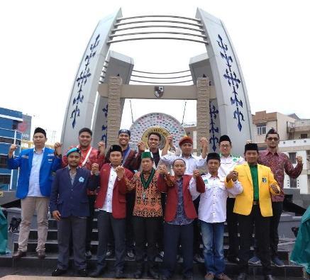 Para Ketua Organisasi Kemahasiswaan dan Kepemudaan