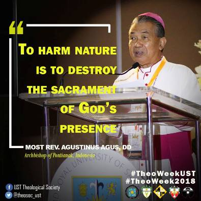 Mgr Agus dalam simposium di Manila2
