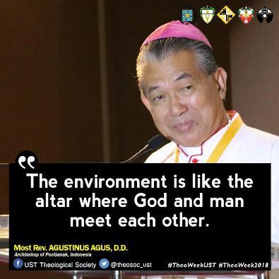 Mgr Agus dalam simposium di Manila3