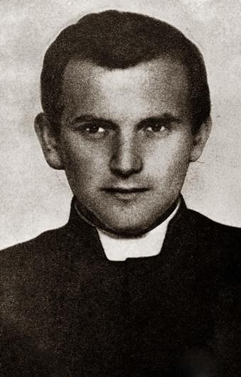 Karol Wojtyla sebagai seminaris klandestin (rahasia) di Krakow, 1942. © EAST NEWS