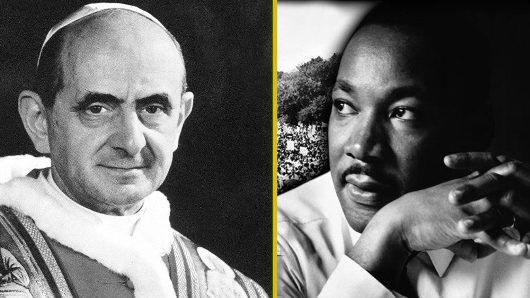 Paus Paulus VI dan Martin Luther King